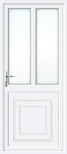 Reagan Half Panel Dual Glazed UPVC Back Door