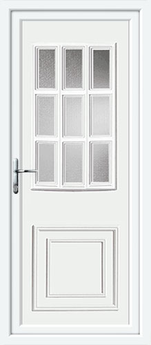 Tyler Glazed UPVC Back Door