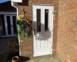 dual glazed upvc door