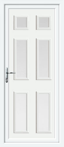 Wilson Six Glazed UPVC Back Door