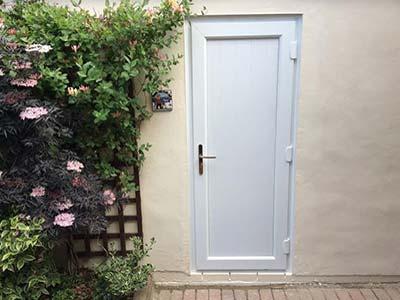 External upvc composite doors patio french doors for Back door with opening window