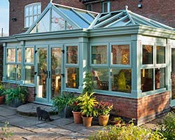 chartwell green conservatory windows