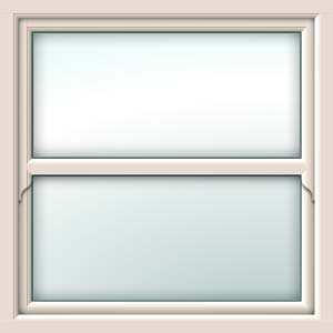 cream sliding sash window