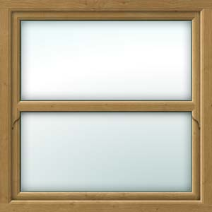 irish-oak sliding sash window
