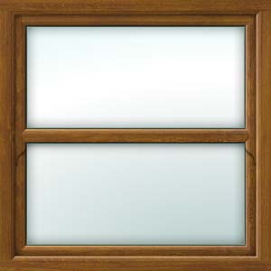oak sliding sash window