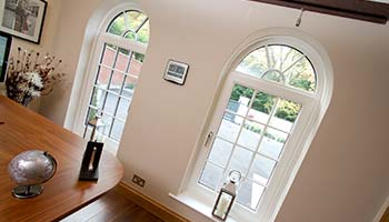 white georgian style tilt n turn windows