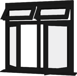 Black upvc window style 65 buy online supply only for Buy house windows online