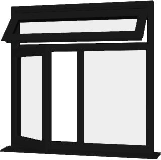 Black upvc window style 85 buy online supply only for Order house windows online