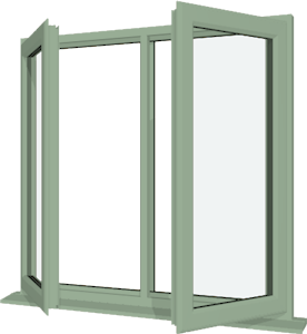 Chartwell green upvc window style 14 buy online supply only for Buy house windows online
