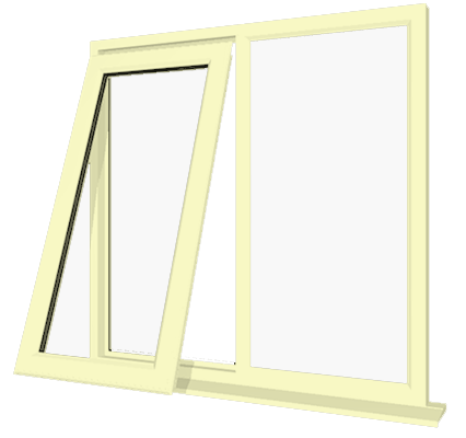 Cream upvc window style 16 buy online supply only for Buy house windows online