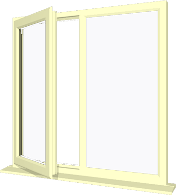 Cream upvc window style 18 buy online supply only for Buy house windows online