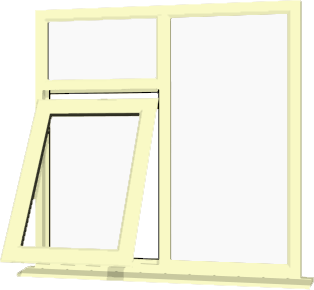 Cream upvc window style 41 buy online supply only for Buy house windows online