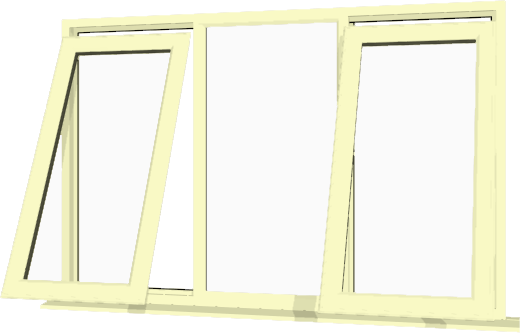 Cream upvc window style 52 buy online supply only for Buy house windows online