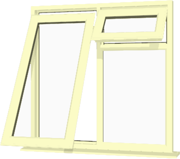 Cream Upvc Window Style 61 Buy Online Supply Only