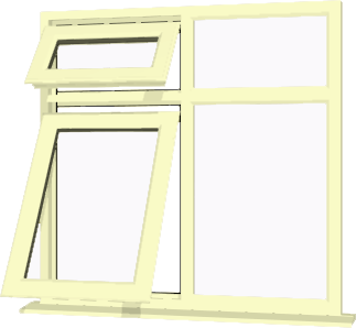 Cream upvc window style 71 buy online supply only for Order house windows online
