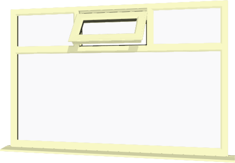 Cream upvc window style 76 buy online supply only for Order house windows online
