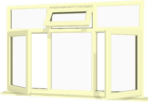Cream upvc window style 79 buy online supply only for Buy house windows online