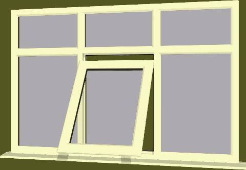 Cream Upvc Window Style 83 Buy Online Supply Only