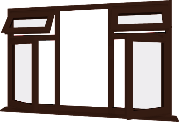 Rosewood Upvc Window Style 25 Buy Online Supply Only