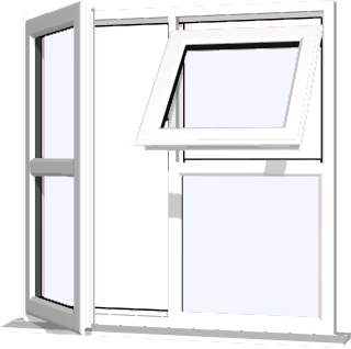 Window Style cottage upvc windows