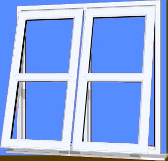 White UPVC Window Style 133  sc 1 st  DIY UPVC Windows Supply Only & Cottage UPVC Windows pezcame.com
