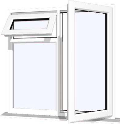 White upvc window style 21 buy online supply only for Buy house windows online