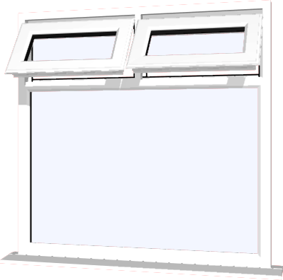White upvc window style 22 buy online supply only for Buy house windows online