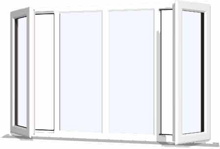 White Upvc Window Style 39 Buy Online Supply Only