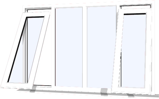 White upvc window style 55 buy online supply only for Buy house windows online