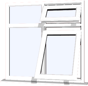 White upvc window style 72 buy online supply only for Order house windows online