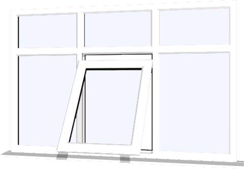 White upvc window style 83 buy online supply only for Where to buy house windows